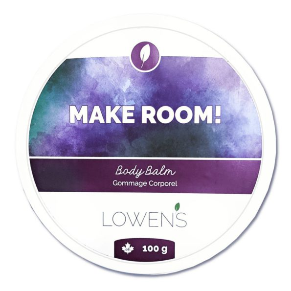 Make Room Body Balm - your super skin fixer - by Lowens.ca #canadiangreenbeauty