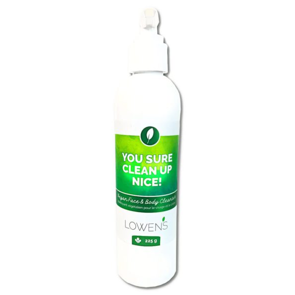 You Sure Clean Up Nice! - Face & Body Wash - by Lowens.ca #canadiangreenbeauty