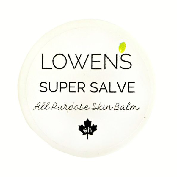 Super Salve - All-Purpose Conditioning Balm - by LOWENS.ca #canadiangreenbeauty