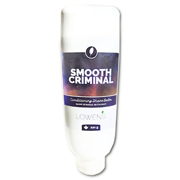Smooth Criminal Conditioning Shaving Balm - by Lowens.ca VEGAN FORMULA - #Canadiangreenbeauty
